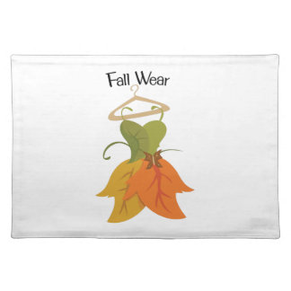 Fall Wear Placemat
