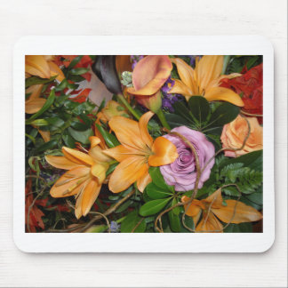 Fall Wedding Bouquet Mouse Pad