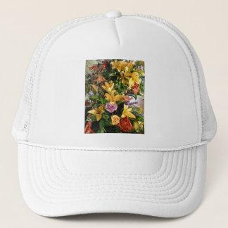 Fall Wedding Bouquet Trucker Hat