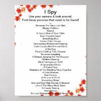 I Spy Game Gifts on Zazzle