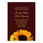 "Fall Wedding Invitation 5"" X 7"" Invitation Card"