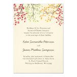 Fall Wedding Invites