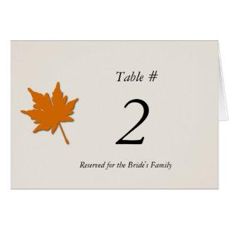 Wedding Reception Note Cards