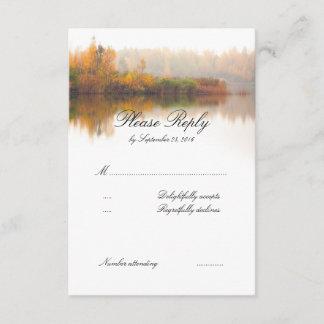 Fall Wedding RSVP