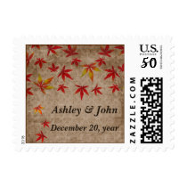 fall wedding stamps