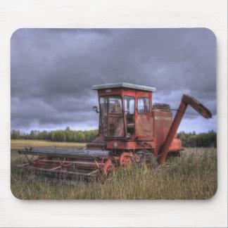 fall wheatfields mouse pad