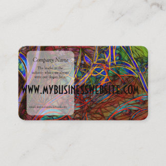 Fall Winds Are coming Business Card