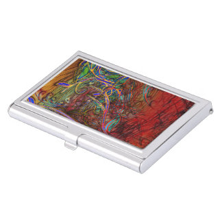 Fall Winds Are Coming Business Card Case