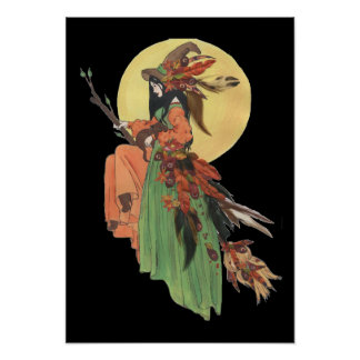 Fall Witch Poster