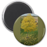 Fall Yellow Leaves/Tree Magnet