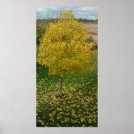 Fall Yellow Leaves/Tree Print
