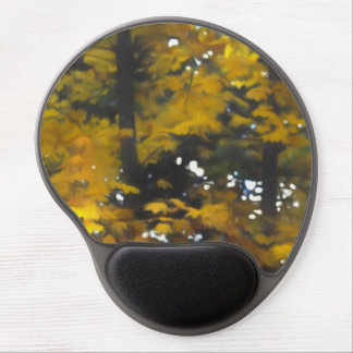 Fall Yellow Trees Gel Mouse Pad