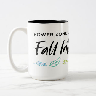 Fall Zone Two-Tone Coffee Mug