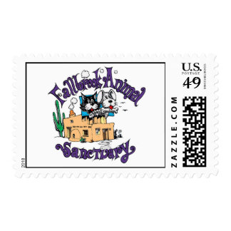 Fallbrook Animal Sanctuary Stamp