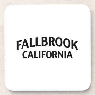 Fallbrook California Beverage Coaster