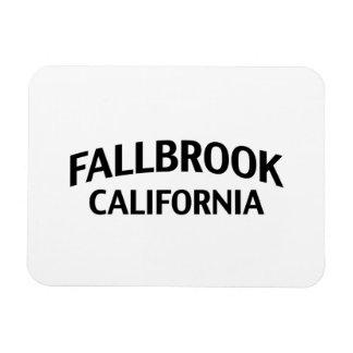 Fallbrook California Rectangular Photo Magnet