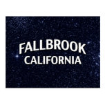 Fallbrook California Tarjeta Postal