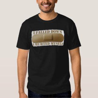 Falled abajo y hurted camiseta camisas