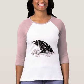 Fallegur Raven Valhalla T-shirts