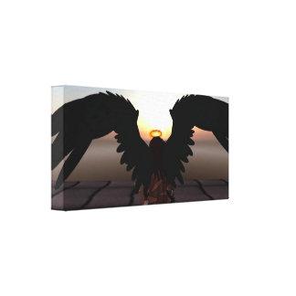 """Fallen Angel"" 12"" x 12"", 1.5"", Single Canvas Print"