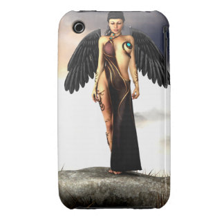 Fallen Angel 3G/3GS Case-Mate Barely There Case-Mate iPhone 3 Cases