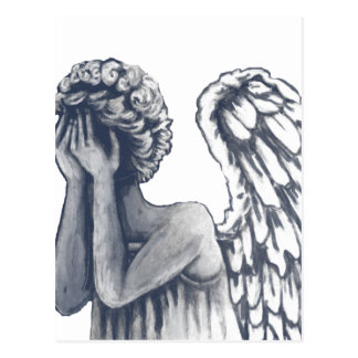 Fallen, Angel Art Products Postcard
