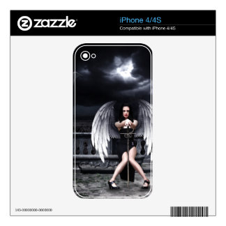 FaLLEN ANgEL Decal For iPhone 4