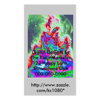 Fallen Angel, Digital Designs by The KajunMarke... Business Card