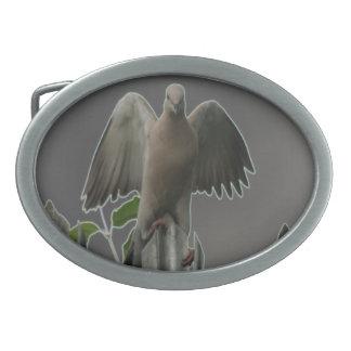 Fallen Angel Dove Belt Buckle