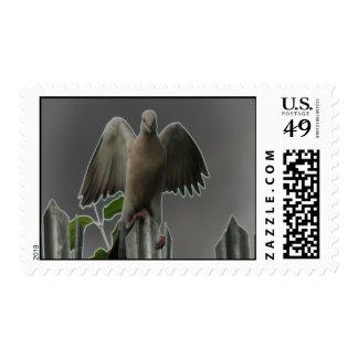 Fallen Angel Dove US Postage Stamp