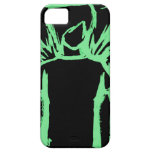 Fallen Angel Green iPhone 5 Cover