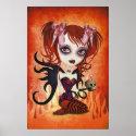 Fallen Angel Print Wall Art print
