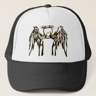 Fallen Angel Yellow Trucker Hat