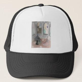 fallen ballerina trucker hat