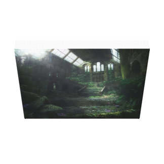 Fallen Beauty Canvas Print