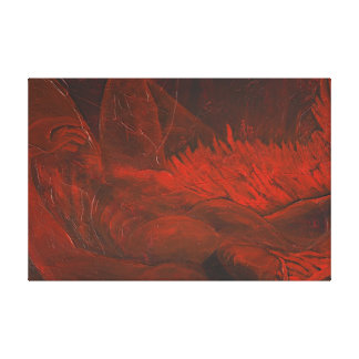 Fallen, Broken Wings Gallery Wrap Canvas