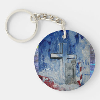 Fallen But Never Forgotten Round Acrylic Key Chains