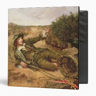 Fallen by the Wayside, 1886 (oil on canvas) 3 Ring Binder