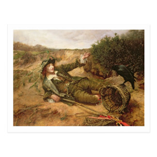 Fallen by the Wayside, 1886 (oil on canvas) Post Cards