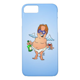 Fallen Christmas angel iPhone 8/7 Case