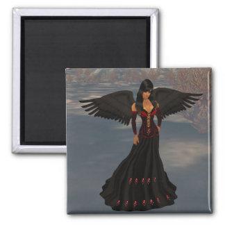 Fallen Dark Angel Magnet