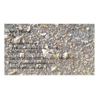 Fallen Dry Leaves and Fruits Business Card