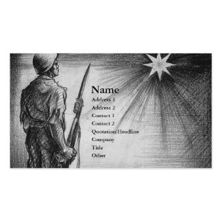 Fallen Heros Double-Sided Standard Business Cards (Pack Of 100)