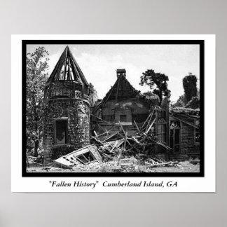 """Fallen History""  Cumberland I... Posters"