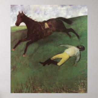Fallen Jockey Poster