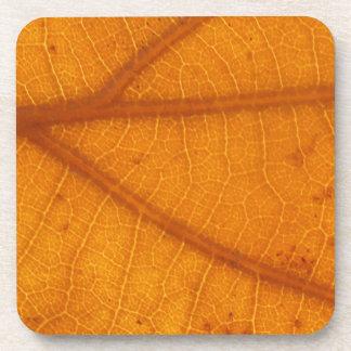 Fallen Leaf 14A Beverage Coaster