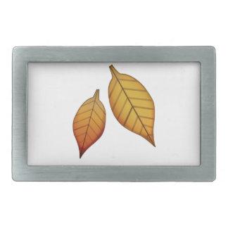 Fallen Leaf - Emoji Belt Buckle