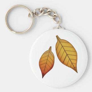 Fallen Leaf - Emoji Keychain