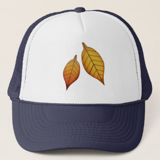 Fallen Leaf - Emoji Trucker Hat
