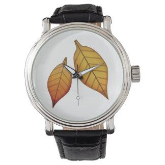Fallen Leaf - Emoji Wrist Watch